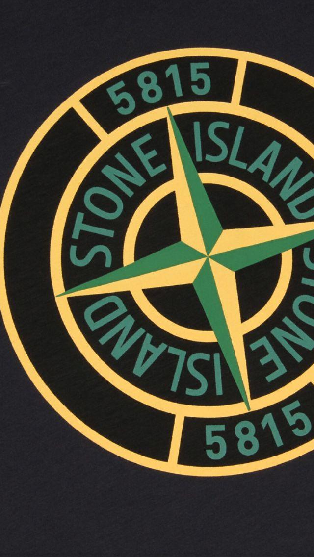 Stone Island Gaya Kasual Desain Logo Desain