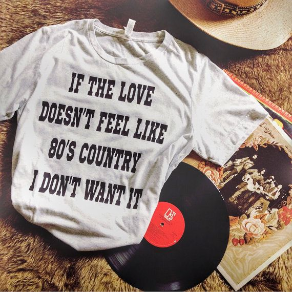 80's Country Tee by ShopRetroCactus on Etsy