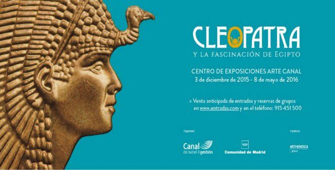 'Cleopatra y la fascinación por Egipto' conquista a los visitantes - HISTORIA Y ARQUEOLOGIA