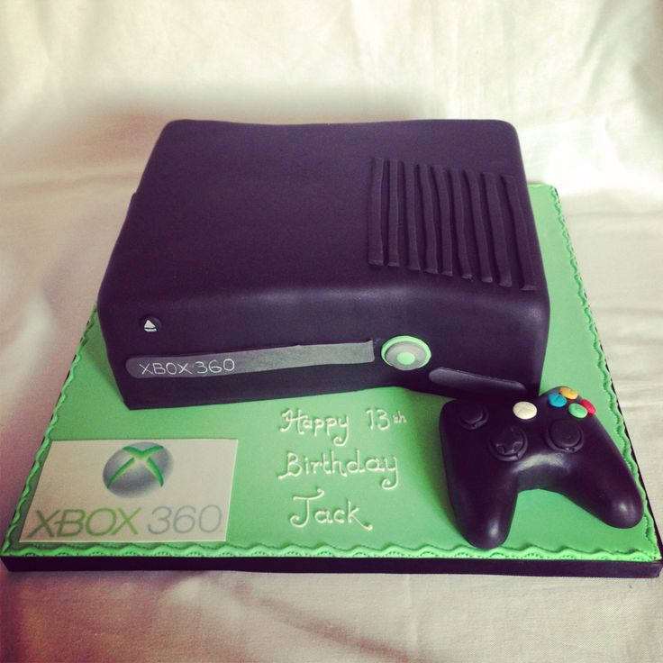 Xbox 360 cake.. Tim's birthday cake, or it will be in May! <3
