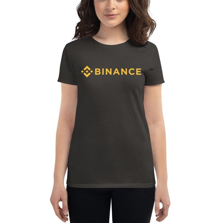 "Binance brand t-shirt Your typical 100% cotton t-shirt (except for heather colors, which contain 10% polyester). Pre-shrunk to make sure your size is maintained throughout several washes, and a classic fit. • 100% jersey knit • Pre-shrunk • Seamless, double-need ⅞"" collar • Taped neck and shoulders • Classic fitSize guide S M L XL 2XL Width (inches) 17 ¼ 19 ¼ 21 ¼ 23 ¼ 25 ¼ Height (inches) 25 ½ 26 27 28 28 ½ Branded T Shirts, Funny Shirts, T Shirts For Women, Tees, Sleeves, Cotton, How To Wear, Style, Making Beer"