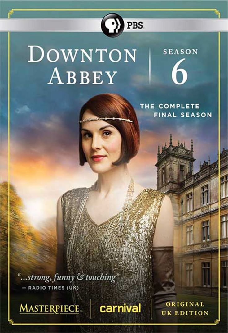 Masterpiece Downton Abbey Season 6 (DVD)