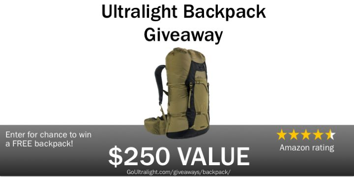 Giveaway – Ultralight Backpack