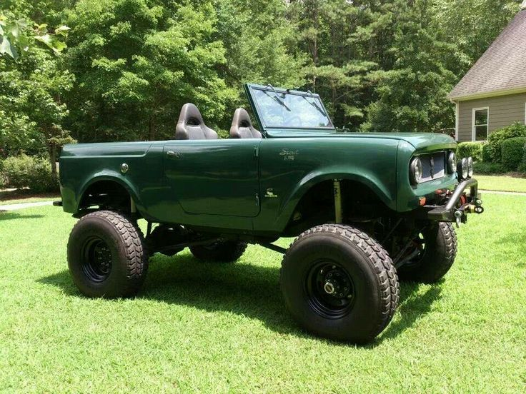 Lifted Scout 80 | IH S...
