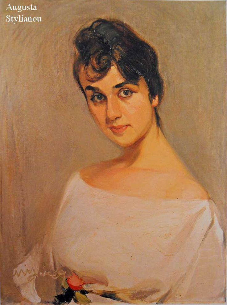 Nikolaos Lytras, Woman with Rose