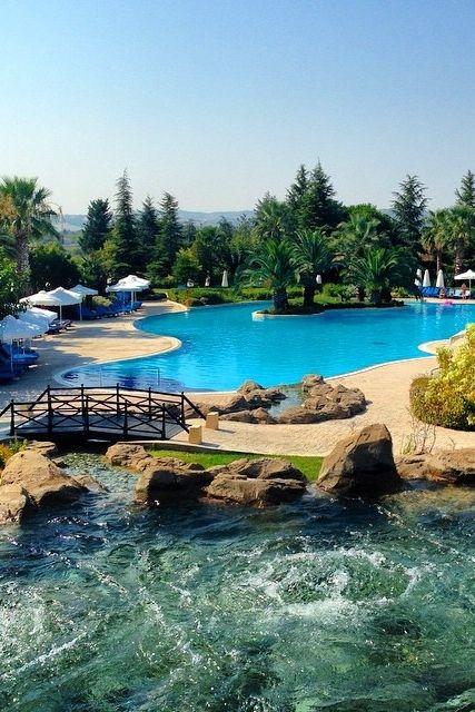 A great view of the pool at Hyatt Regency Thessaloniki. Photo courtesy of David at World-Adventurer.com