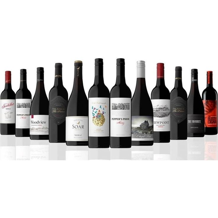 12 Mixed Premium Australian & New Zealand Red Wines | Buy Red Wines