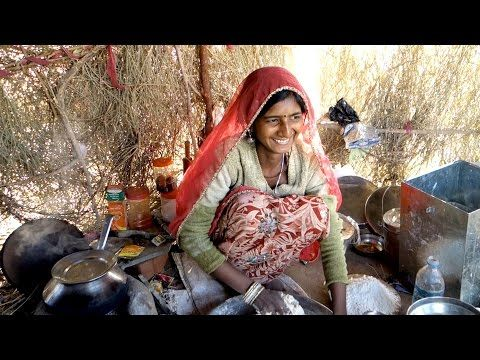 Chapati - Traditional Indian flat bread - authentic Indian video recipe from a gipsy village in a desert in Rajasthan, India (source: my personnal food and travel blog / vlog with recipes, authentic video recipes, street food, food and travel documentary, travel info and more. Welcome! :) )