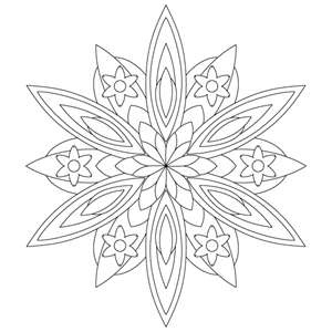 kaleidoscope activity coloring pages - photo#43