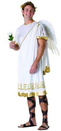 Sexy Greek God Costumes for Men   Men's Cupid Greek Mythology Costume Adult