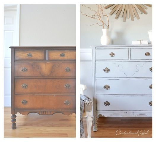 dresser before and after:
