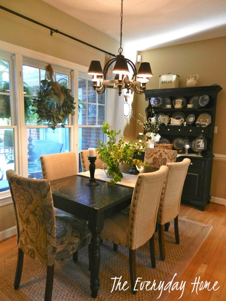 Late For The PartyMy Kitchen Reveal Black Dining Room FurnitureNeutral