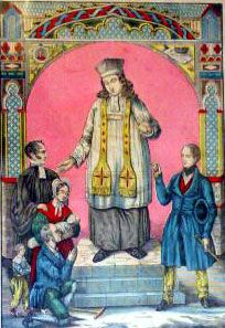 Image sur saint Yves (anonyme)