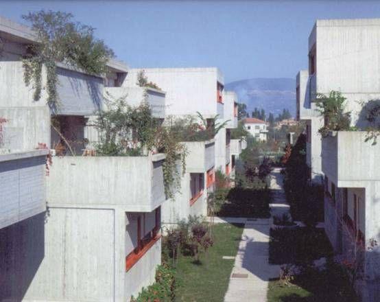 Nuovo Villaggio Matteotti, Terni, Italy, Giancarlo De Carlo, 1970-75