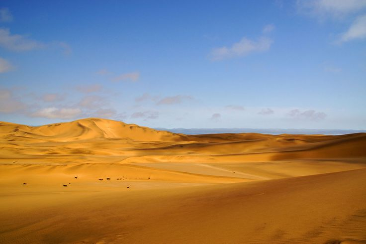 """What makes the desert beautiful is that somewhere it hides a well."" Antoine de Saint-Exupery #quote 📷: Heribert Bechen #Namibia #sanddunes #desert #travelTuesday"