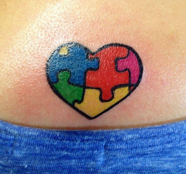 Die 296 besten bilder zu autism tat auf pinterest pfauen for Tattoos when you get old