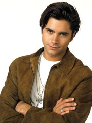 The young John Stamos, best known ad Uncle Jesse in Full House:)