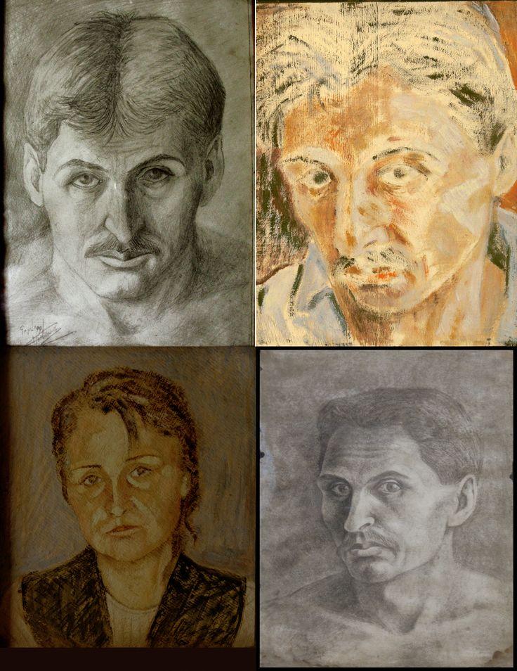 studii portret