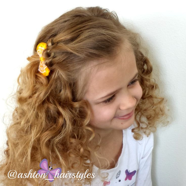 We did this sweet 3 knotted detail on Ashton's hair today. Cute Girls Hairstyles has a great tutorial for it.  I will link to it for you.  Have a great day!