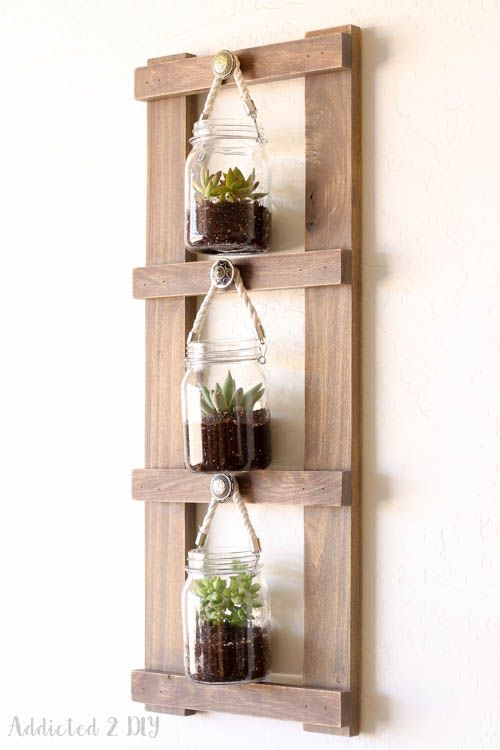 Rustic Multi-Purpose Ladder Display