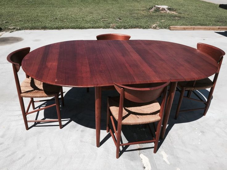 17 Best images about Mid Century Modern Ebay on Pinterest Teak table, Mid century modern and