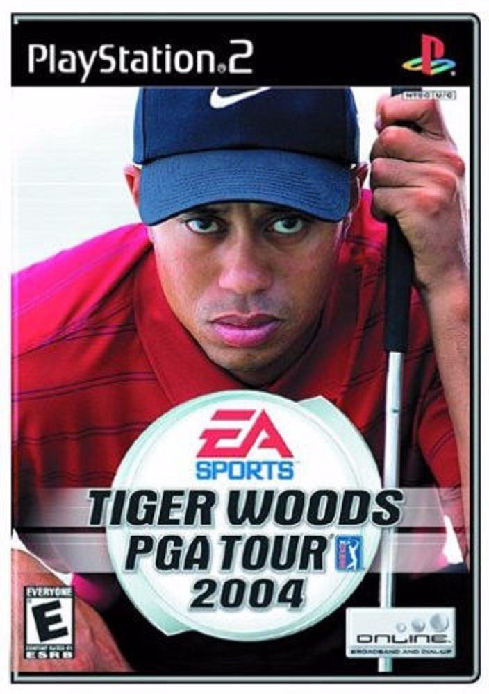 Tiger Woods PGA Tour 2004 Golf Play Station 2 PS2 Video Game Sony