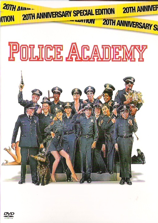 Police Academy 1- The police academy films are just hilarious! I love them all -liza