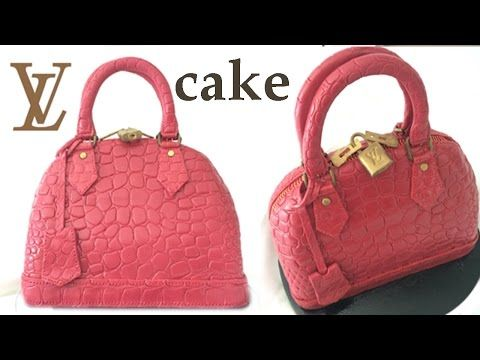 Louis Vuitton Hand Bag Cake | HowToCookThat : Cakes, Dessert & ChocolateHowToCookThat : Cakes, Dessert & Chocolate