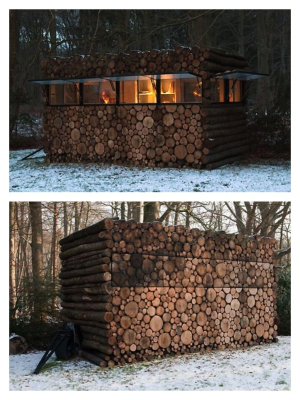 Collection of Cordwood homes