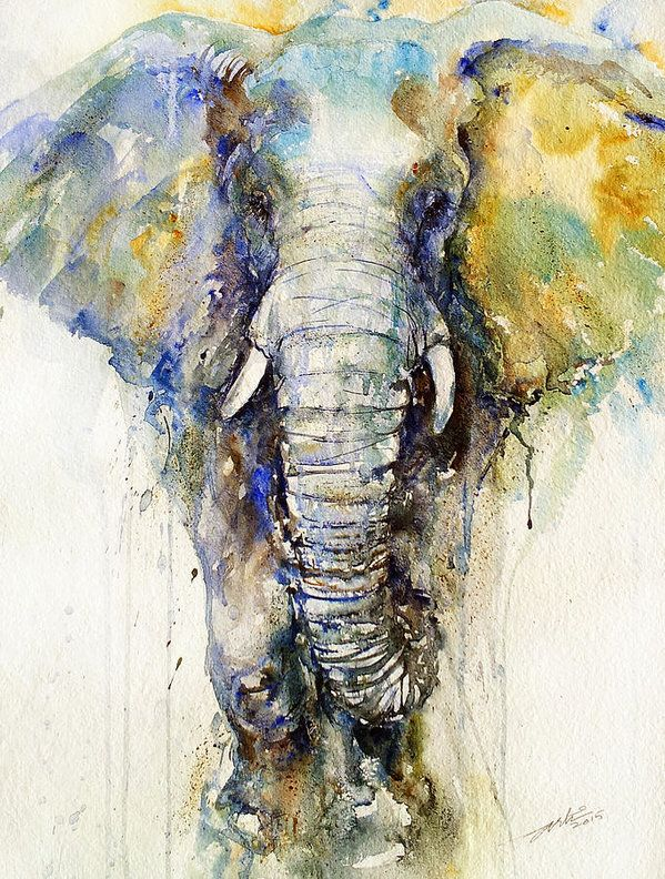 Elephant art by Arti Chauhan
