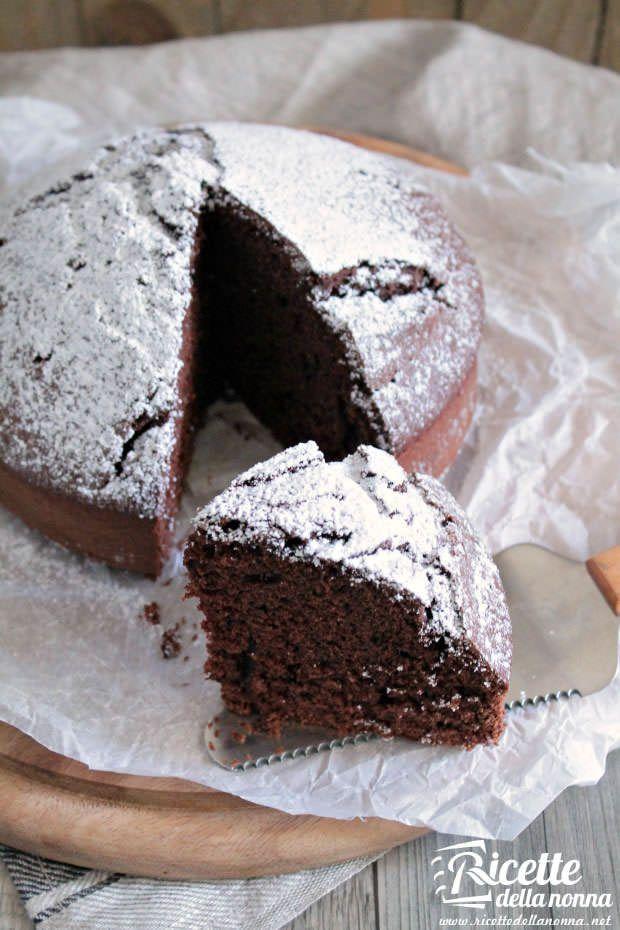 Torta margherita al cacao   Ricette della Nonna