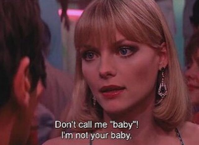 #ElviraHancock #Elvira #Scarface Michelle Pfeiffer as Elvira in Brian de Palma´s Scarface (1983)