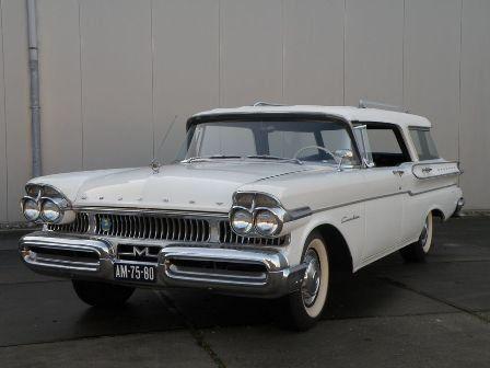 1957 Mercury Commuter Stationwagon 1957 Very Rare