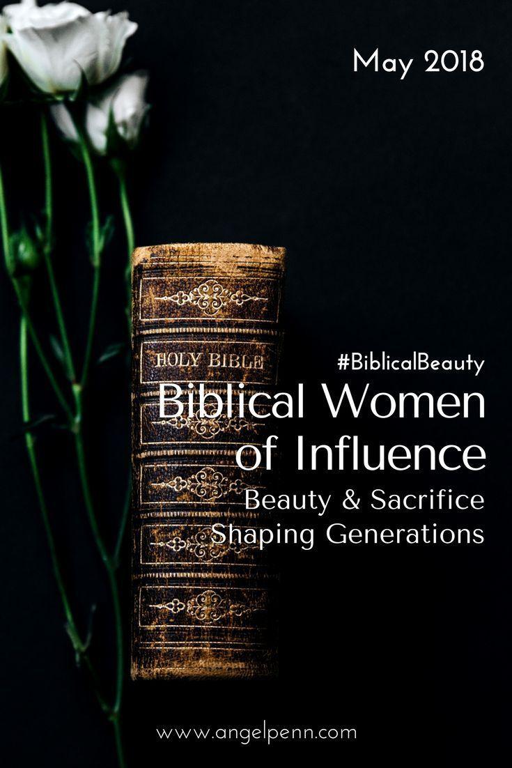 Biblical Women of Influence | Young christian women