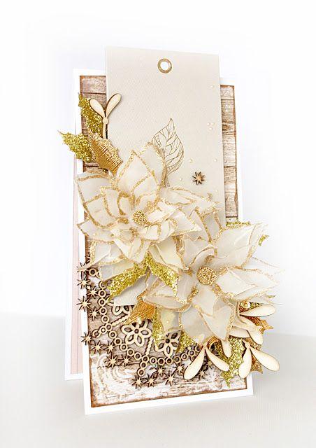 Blog Craft Passion: Gold christmas/ Złote święta.
