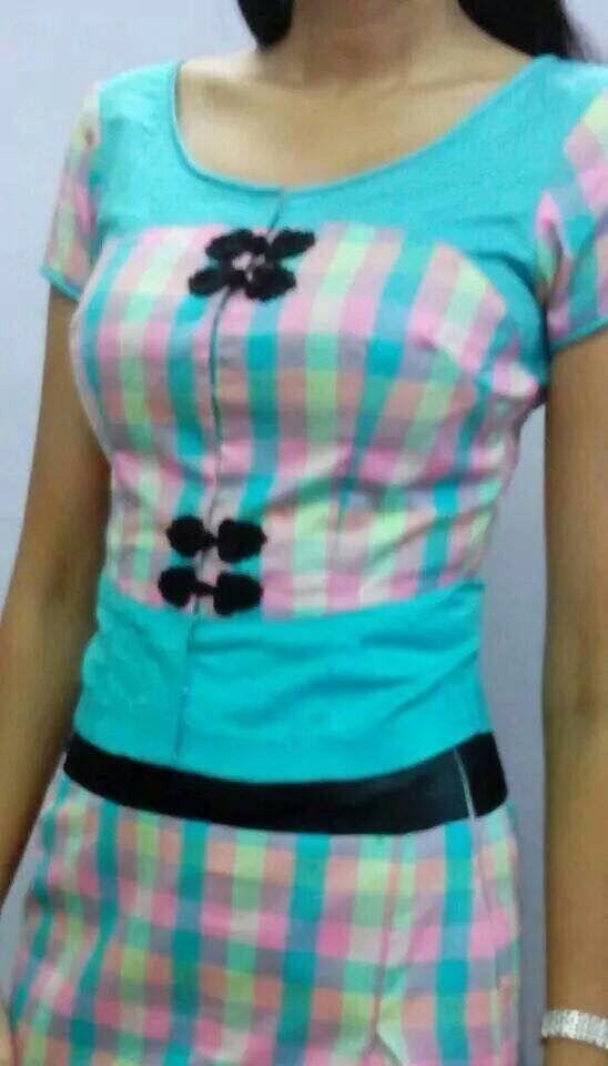 Lovely color & dress