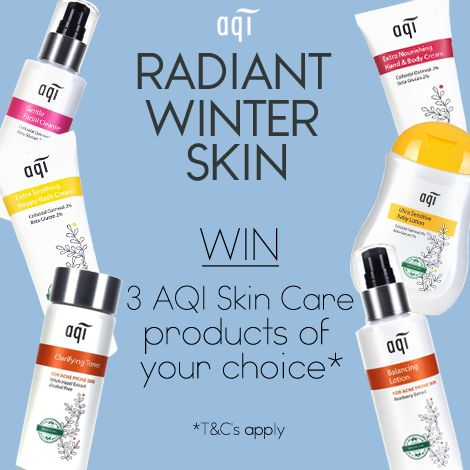 Have you entered our Radiant Winter Skin Competition yet?  For your chance to win 3 AQI products of your choice simply follow the below steps: 1) Like this post 2) Head to our website (www.aqicare.com) and choose the 3 products you would like to win 3) Leave a comment on this post with your chosen 3 products  Comp closes 17/6/17 11.59pm AEST.  Click for full T&C'sgoo.gl/bthwZG  Don't forget to hit the 'Share' button  Good luck!