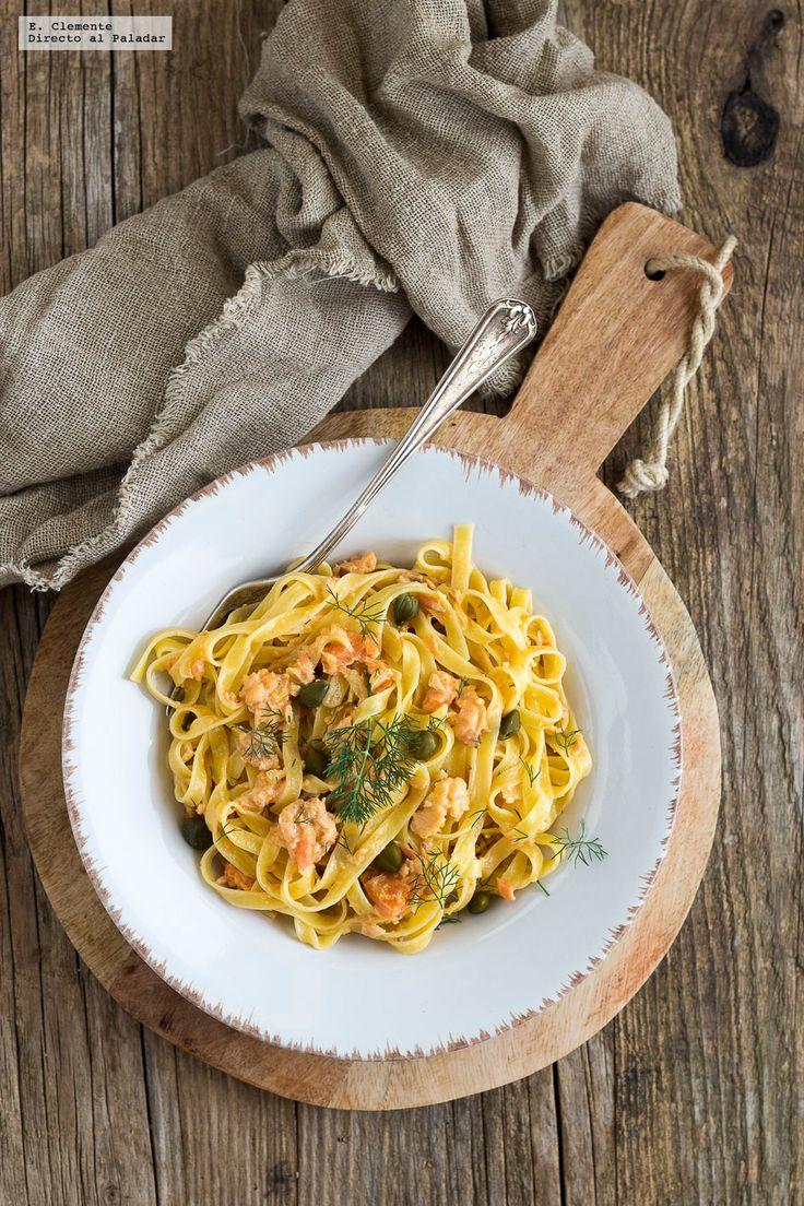 No hay semana que no ponga en mi menú un buen plato de pasta, así que ya se van agotando las ideas de recetas nuevas y originales que no me hagan...