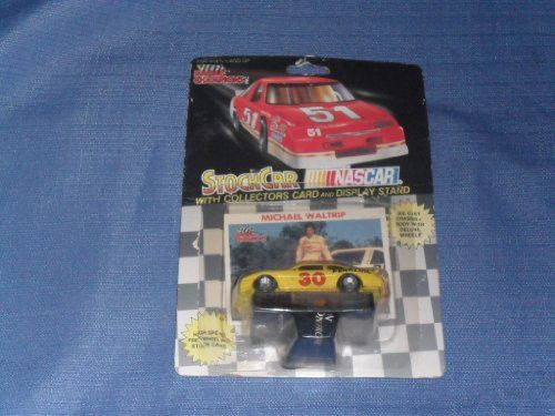 1991 NASCAR Racing Champions . . . Michael Waltrip #30 Pennzoil 1/64 Diecast . . . Includes Collectors Card and Display Stand
