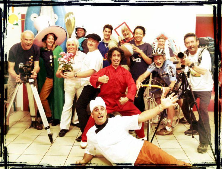 Pibeste team ! l'été sera magique avec ☼ Gérard, Annabelle, Odette, Jaques, Alain, Luc, Romain, Dini, Marie, Sylvain, Michelle, Henk, Pierre et Martine.