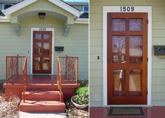 Wood Door Storm Door : Best wood storm doors ideas on pinterest