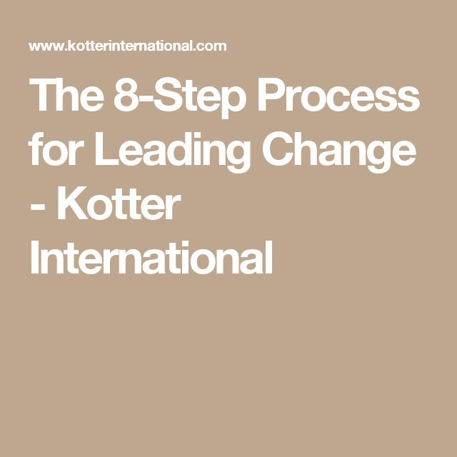 Leading Change (Step 8) – Anchor Change in the Culture