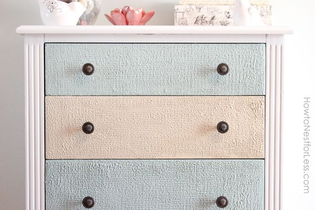 wood icing accent table drawers: Add Texture, Dressers Drawers, Kitchens Accent, Texture Drawers, Ice Texture, Texture Accent, Paintings Dressers, Wood Ice, Diy Texture