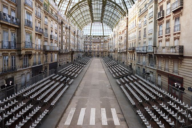 DECORO SFILATA  30 settembre 2014  Grand palais  PARIGI