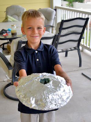 Shield volcano model