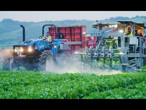 TOP 7 Agriculture Applied sciences and Mega Machines Tractor Harvester Loader Excavator