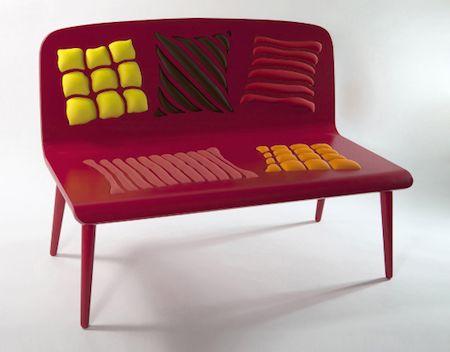 Op Art Bench. Sofa DesignDesign ProdukteProduktdesignModerne ...