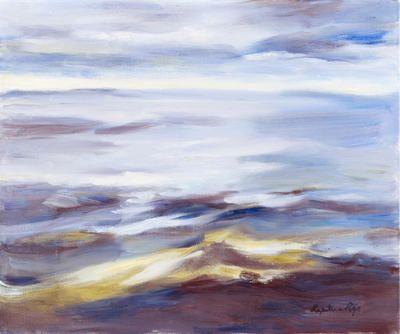 Seascape Oil on canvas W:61cm H:51cm  Price £3,000 The Scottish Gallery http://www.zaidan.ca/Art_Gallery/Perpetua_Pope/Perpetua-Pope.htm
