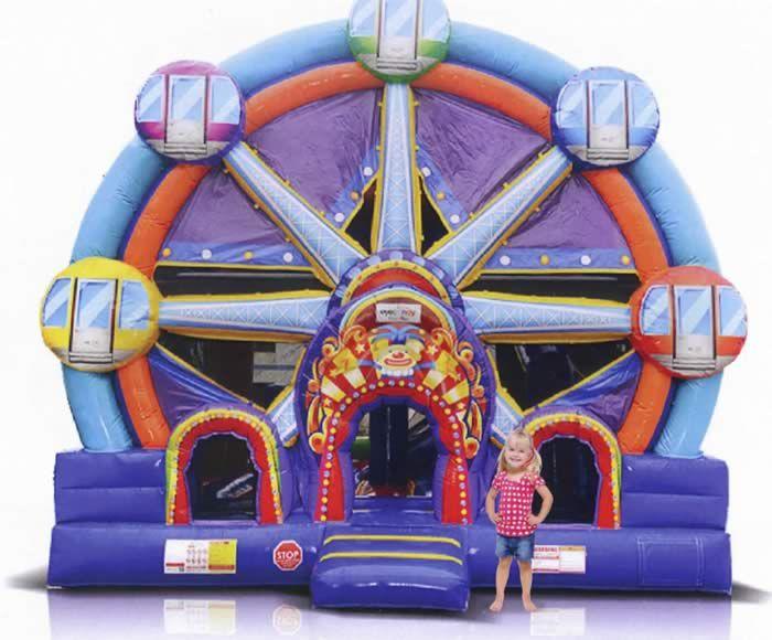 Ferris Wheel Combo bounce house