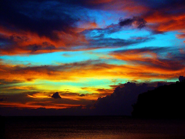 Dakak Sunset    Dakak is a tropical paradise in Southern Mindanao, Philippines